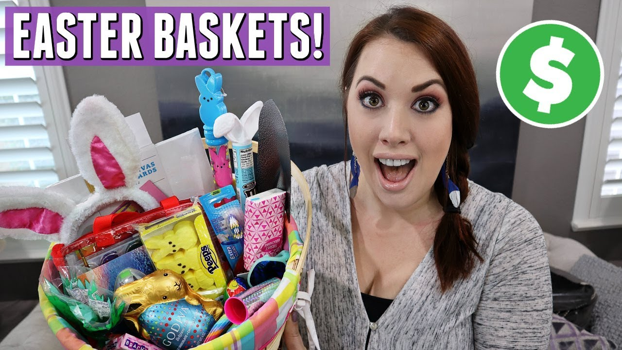 What I Got My Kids For Easter 2019 Easter Basket Ideas For Kids Teens Youtube
