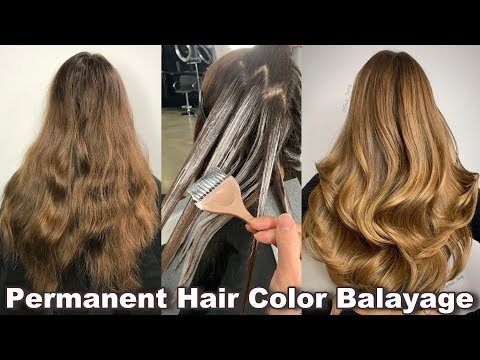 NO BLEACH! Balayage With Permanent Hair Color