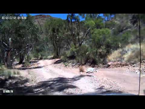 Video 311 Ross Highway - Trephina Gorge to John Hayes Rockhole w/Photos