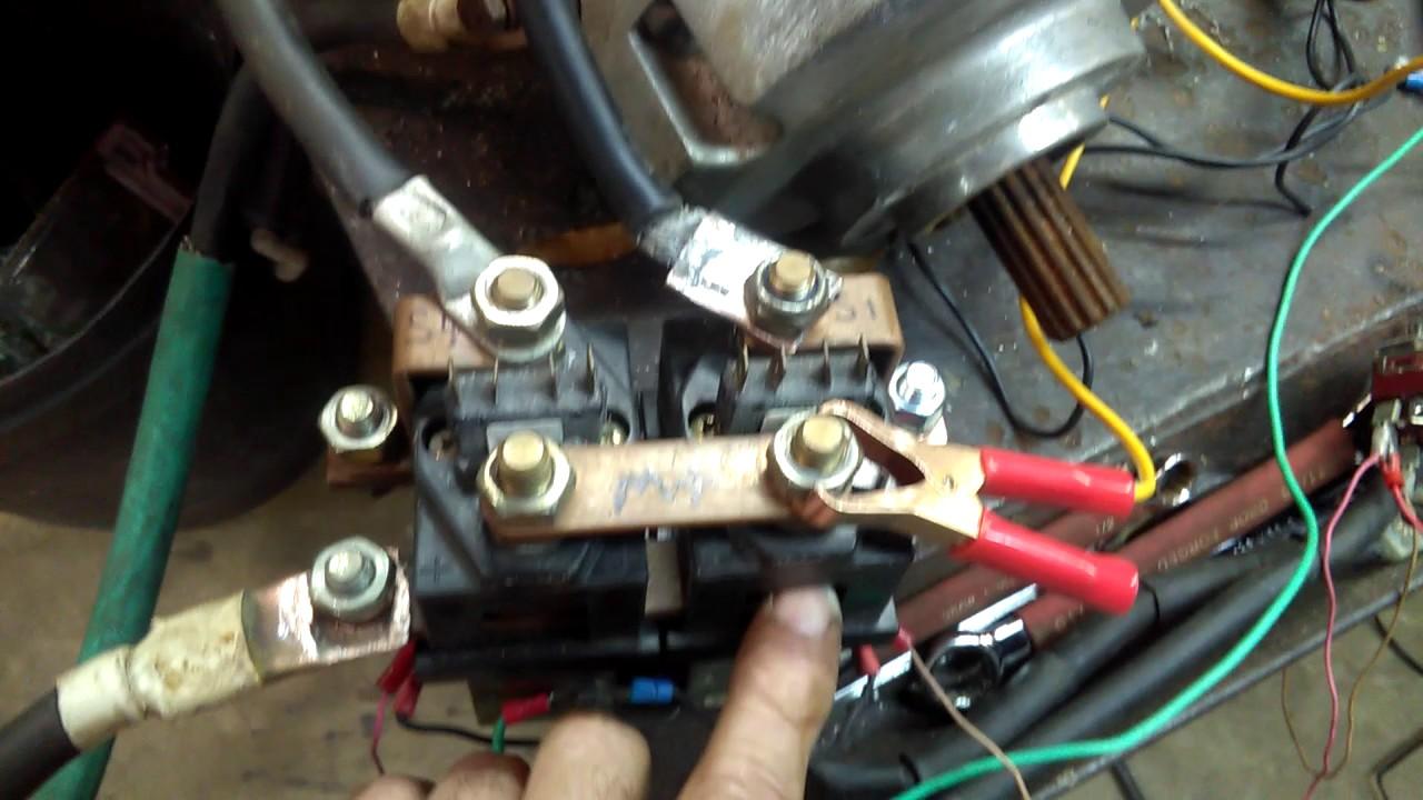 medium resolution of series motor reversing contactor hook up