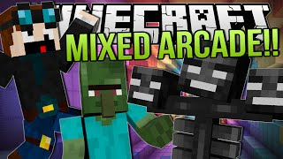 Minecraft | MONSTER KILLS, MONSTER SKILLS!! | Mixed Arcade Minigames