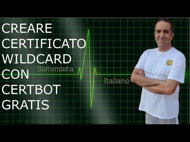 [CENTOS] - Creare un certificato wildcard gratis con certbot (Let's Encrypt)