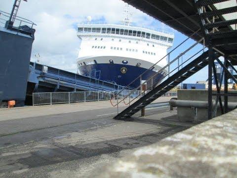 Sirena Seaways Ferry Crash [CAUGHT ON CAMERA]