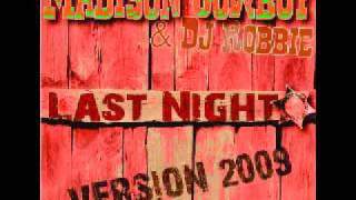 Madison CowBoy - Last Night 2009 - Line Dance Party