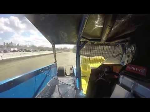 John Ferrier Warmups - Orange County Fair Speedway 4-4-15