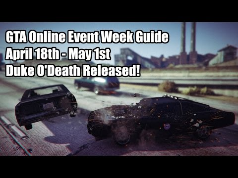 GTA Online Event Week Guide: Duke O' Death & 2x Cash Contact Missions! (April 18th - May 1st)