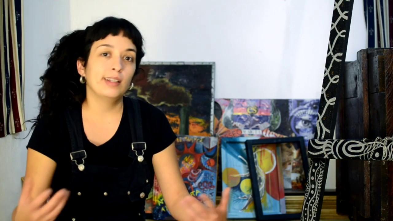 Neuroartes. Los murales con Daiana Méndez.