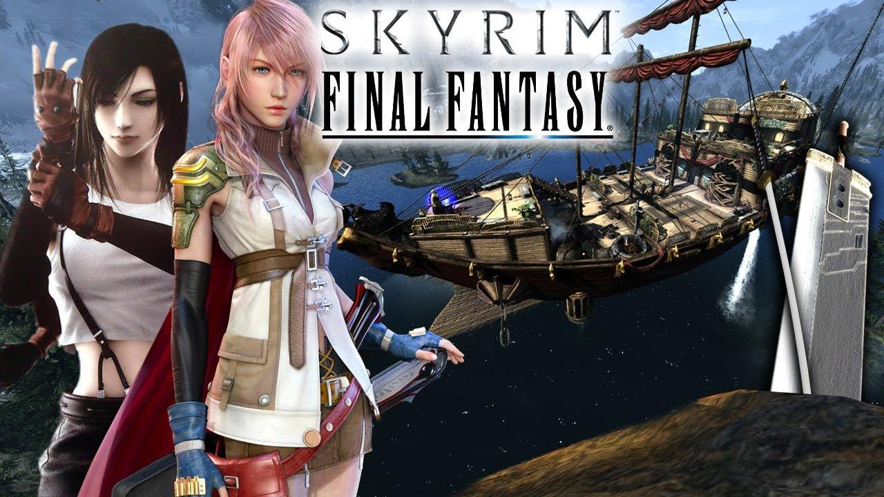 top 5 final fantasy mods in skyrim youtube
