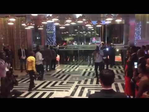 Arne Morris Sorenson arrival to Rwanda Kigali Marriot Hotel Openings & Traditional Dancers