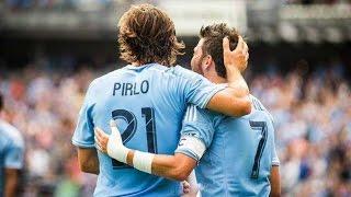 The Trio | David Villa , Frank Lampard, and Andrea Pirlo