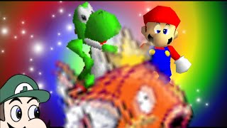 super mario 64 bloopers: Yoshrooms.