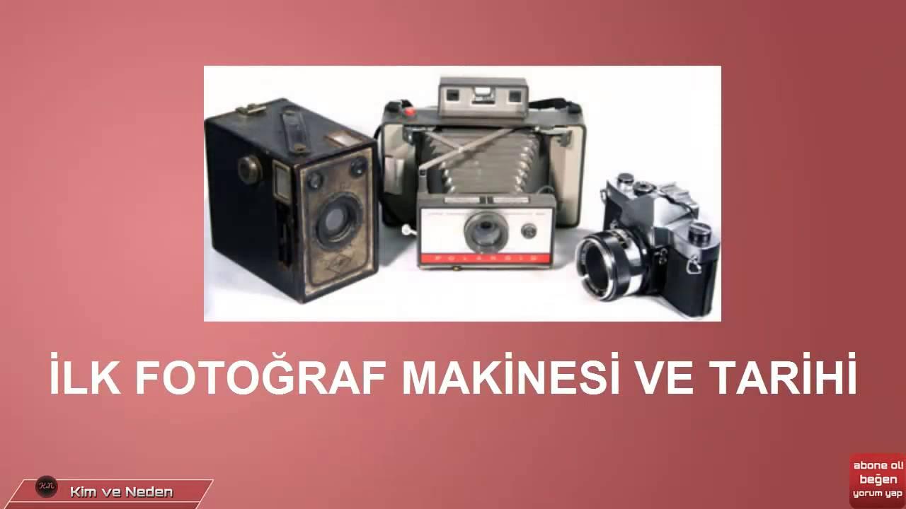 Fotoğraf makinesini kim icat etti fotoğraf makinası ne zaman bulundu