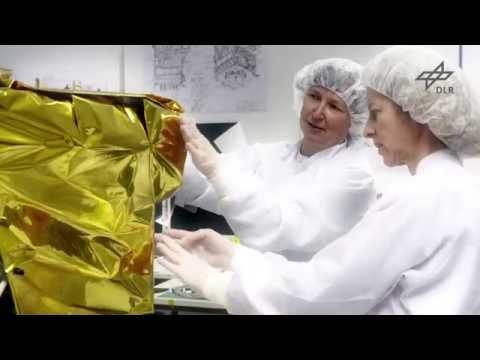 Kleinsatellit BIROS im Labor (Mission FireBird)