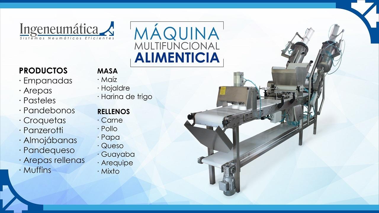 Máquina Multifuncional Alimenticia V.6.0 - YouTube