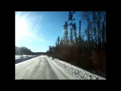 Wayne Goldson working on Northern Alberta's oil rigs