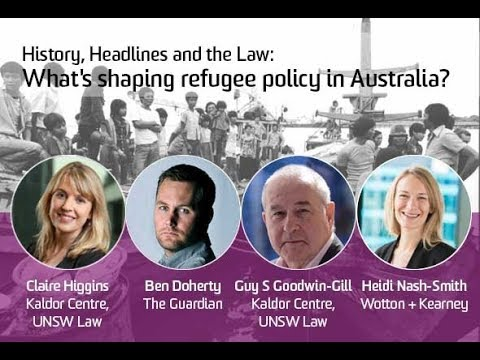 History, Headlines and the Law: What's shaping refugee policy in Australia?
