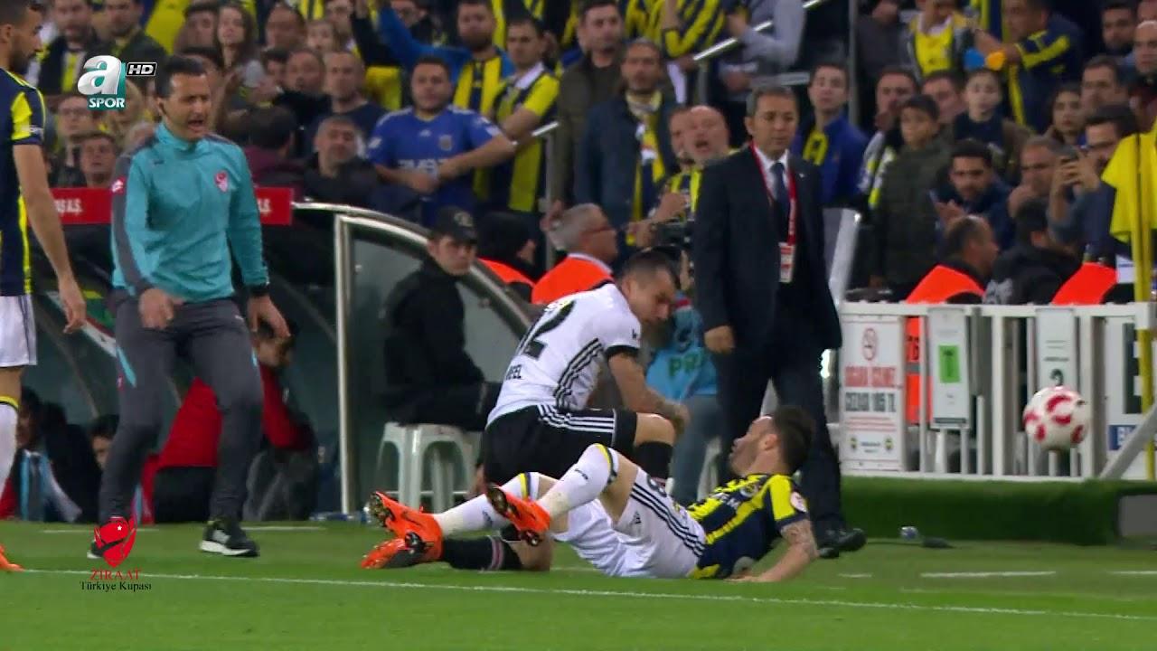 Olaylı derbi ÖZET ve YAŞANAN OLAYLAR | Fenerbahçe 0-0 Beşiktaş | a spor | 19.04.2018