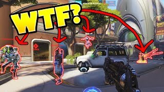The ENTIRE Team Went AFK For Him?!? - Overwatch Funny Moments #57