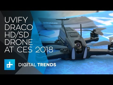 UVIFY Draco HD/SD Drones at CES 2018