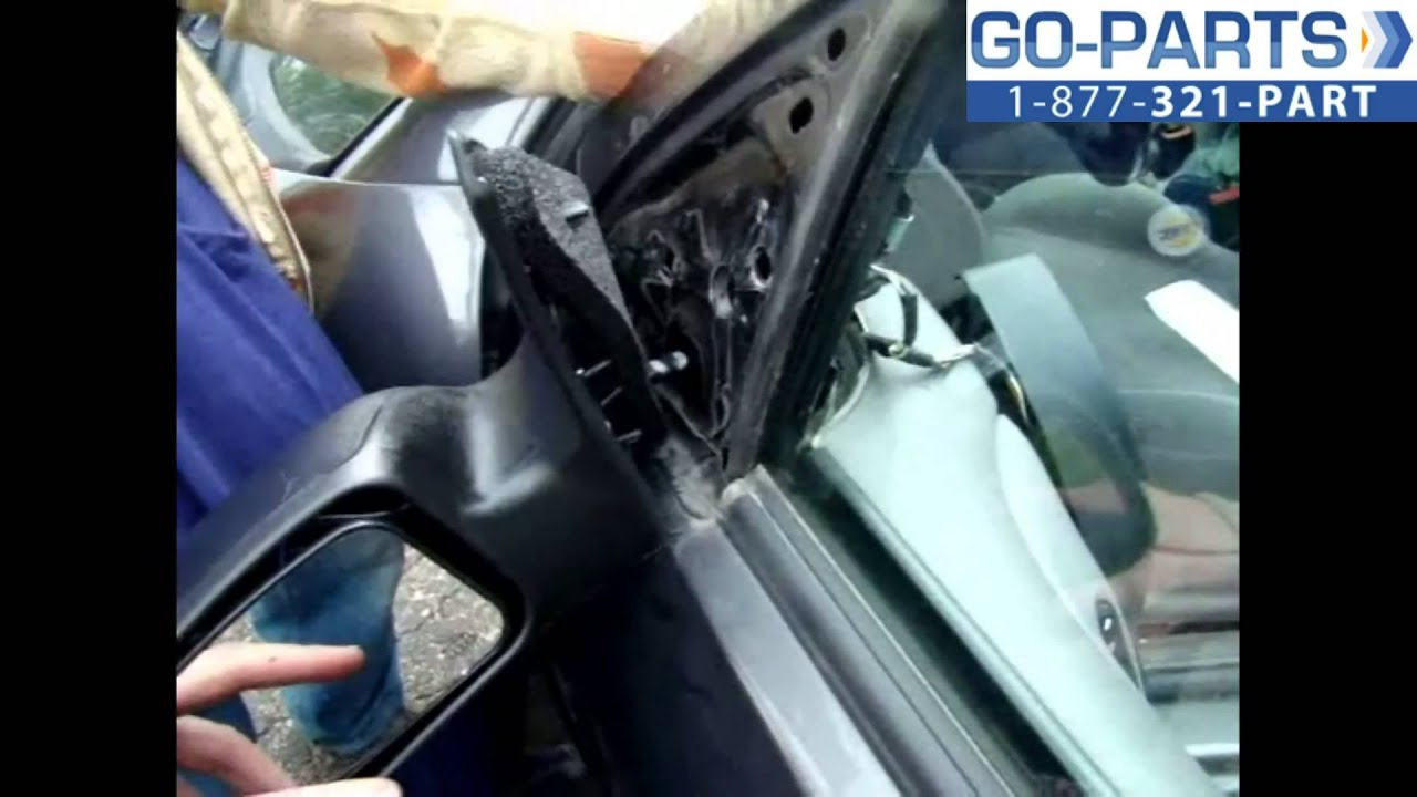 medium resolution of replace 2003 2007 ford focus side rear view mirror how to change install 2004 2005 2006