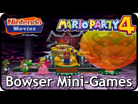 Mario Party 4 - Bowser Mini-Games