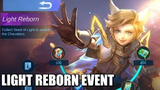 LIGHT REBORN EVENT!