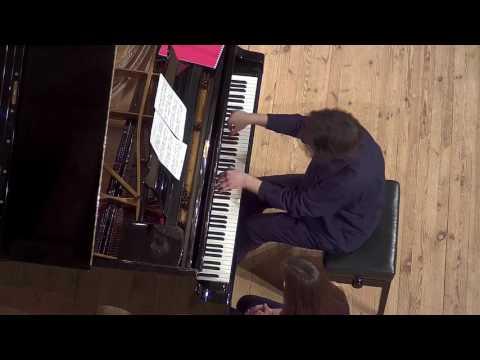 Anton Webern: Klavierstück. Performed by A. Baryshevskyi