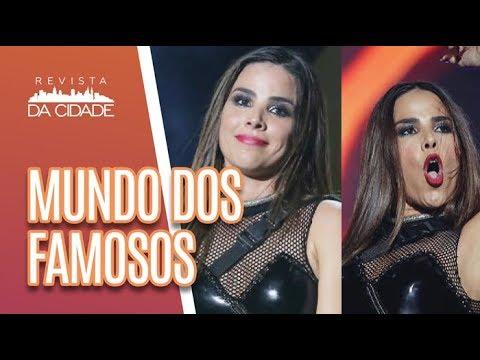 CONFUSÃO No Show De Wanessa Camargo + Famosos Na Parada LGBT - Revista Da Cidade (04/06/18)