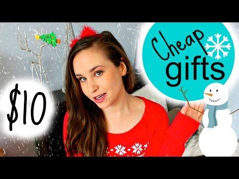 Easy Cheap Christmas Gift Ideas: 10 Gifts Under $10 + Secret Santa Ideas