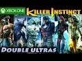 """Killer Instinct"" ""Double Ultra Combos"" All Characters SEASON 1 ""Xbox One"" KI3"