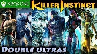 Killer Instinct Double Ultra Combos All Characters SEASON 1 Xbox One KI3