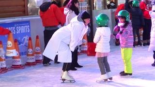 氷にタッチ!ゴロン アジア大会と、雪まつりと掛け持ちで大変そうですが...