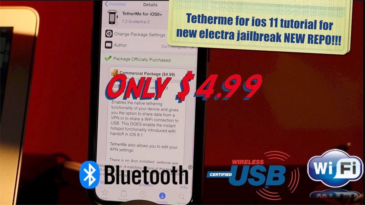 tetherme for new electra jailbreak with NEW repo! - HERVEs WORLD- Episode  179