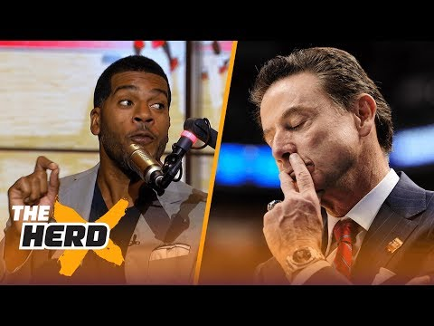 Jim Jackson shares his thoughts on Rick Pitino's 'effective firing' | THE HERD