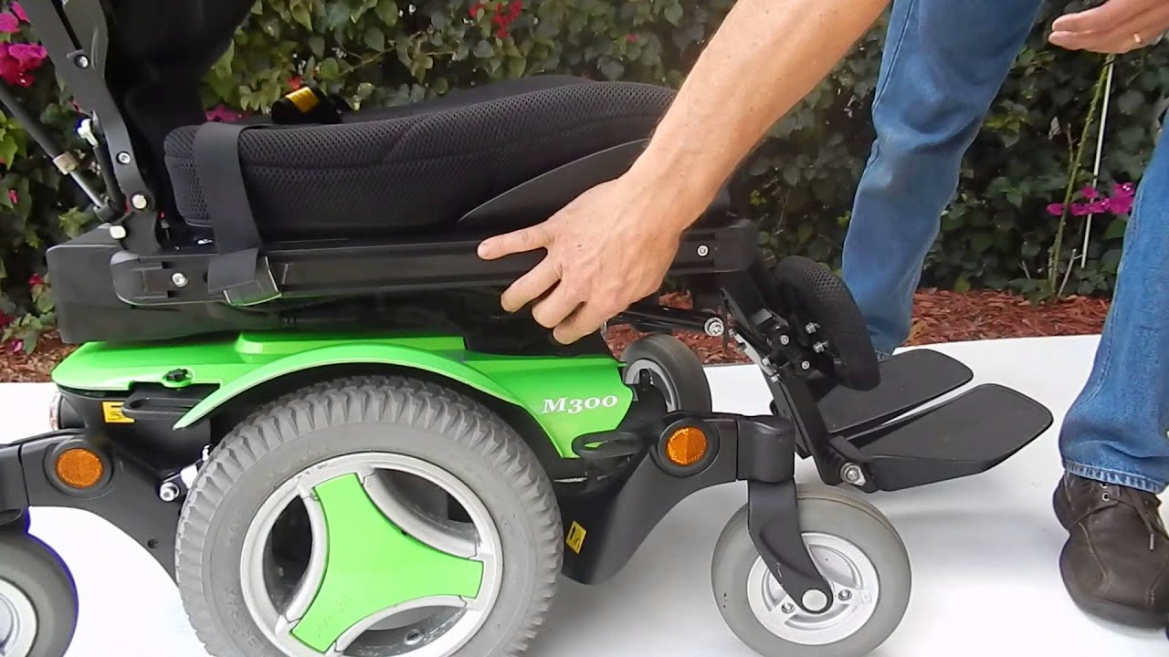 Permobil M300 Green With Tilt Power Chair