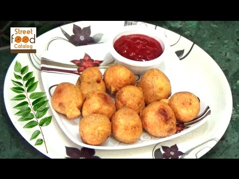 Potato Bonda Recipe - Easy evening tea snacks recipes - Party starters recipes