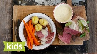 Corned Beef Recipe With Sweet Mustard Sauce
