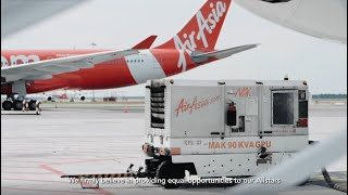 AirAsia 'Girl Can Do Anything' Campaign