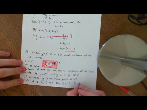 Limit/Accumulation Points Part 2