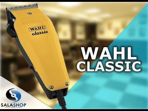 c7f544fcd Unboxing Apresentação Máquina de Cortar Cabelo Wahl Classic Amarela - Série  Minha Primeira Wahl