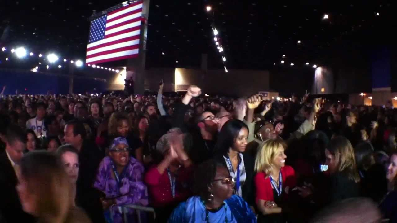 US Elections Obamas Home Crowd Celebrate His Reelection As - The guardian us presidential election 2012 map