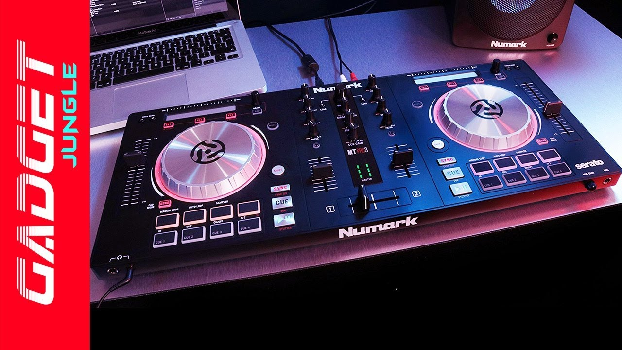 Numark Mixtrack Pro 3 Review - Best Dj Controller For