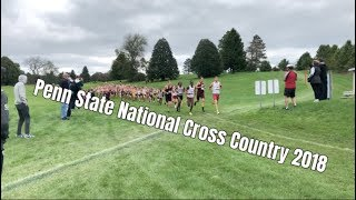 PENN STATE NATIONAL CROSS COUNTRY MEET 2018