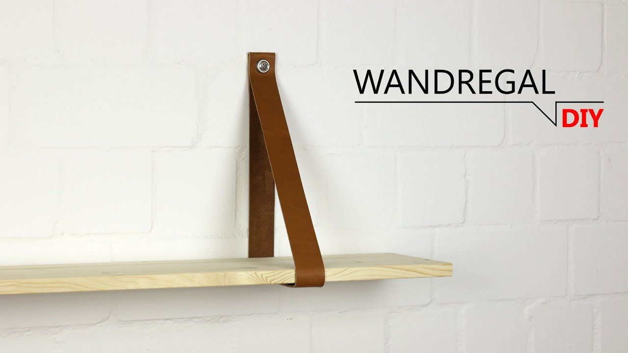 DIY - Wandregal nach Maß - YouTube