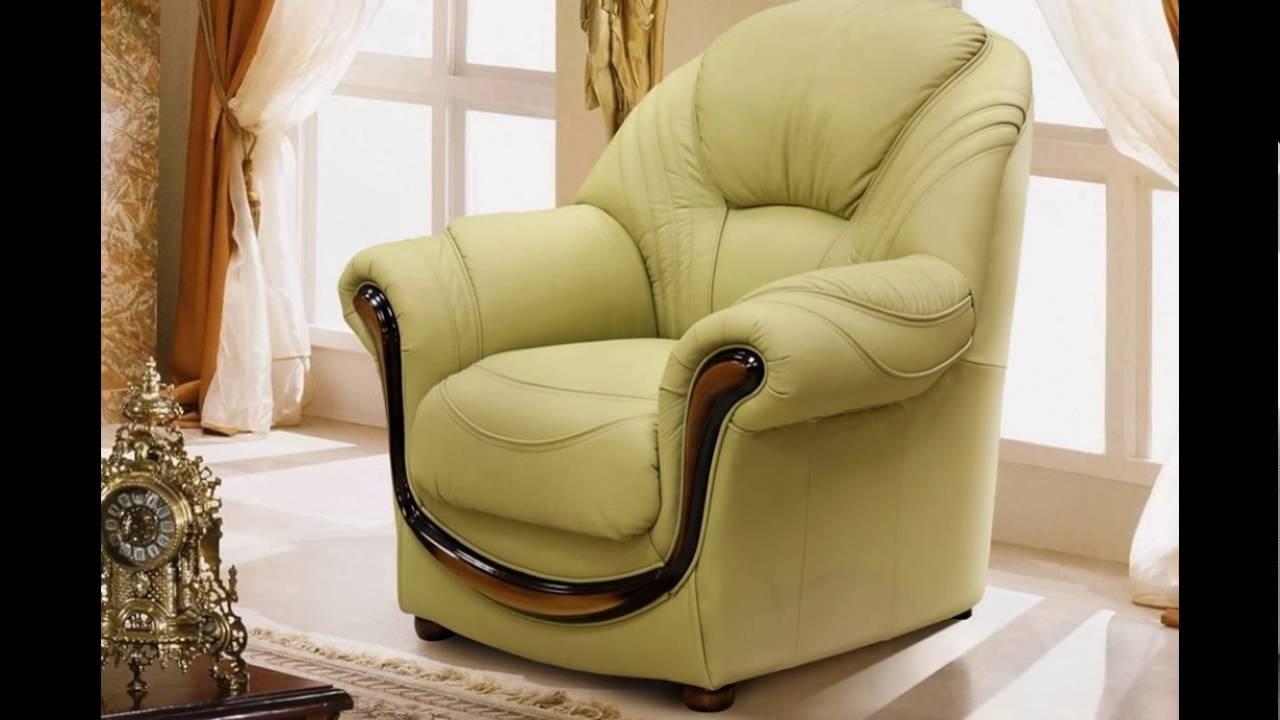 Кожаные диваны. Модель кресла FLAMINIO (Фламинио), торговой марки .