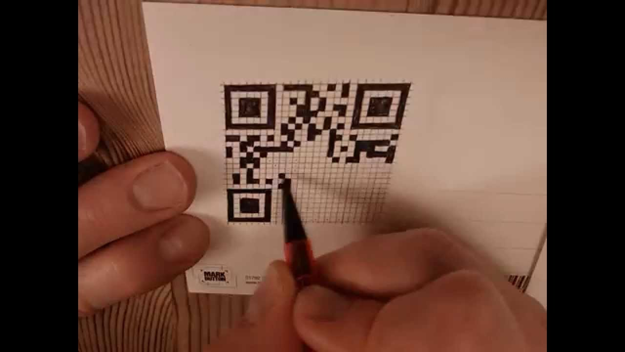 Hand Draw Qr Code Time Lapse Youtube