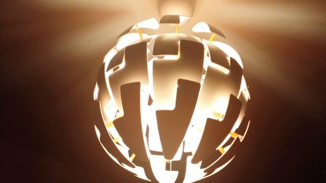 cool ikea lighting ideas | Cool Ikea PS 2014 lamp - YouTube