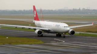 Turkish Airlines A332 *TC-JND* at Dusseldorf International Airport [HD]