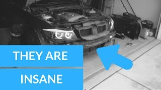 NEW INSANE HEADLIGHTS FOR BMW 3 SERIES (HOWTO)