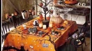 Как украсить стол на Хэллоуин / осенний стол своими руками / быстро и красиво